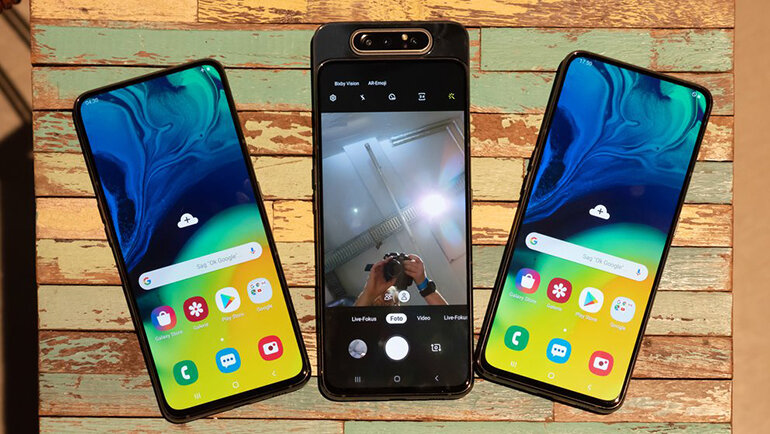Samsung Galaxy A80 thời thượng và ấn tượng