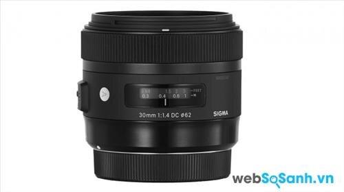Ống kính Sigma 30mm f/1.4 DC HSM A