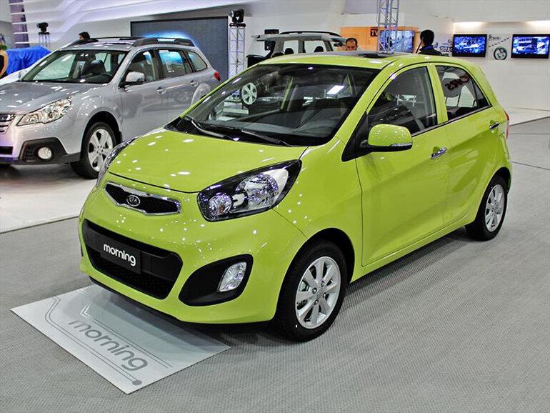 Xe ô tô giá rẻ, tiết kiệm nhiên liệu Kia morning rất được ưa chuộng