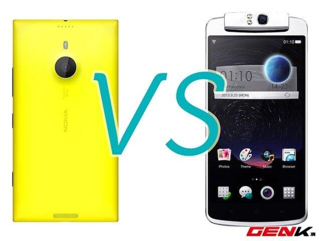 Soi khả năng chụp ảnh của Lumia 1520 và Oppo N1