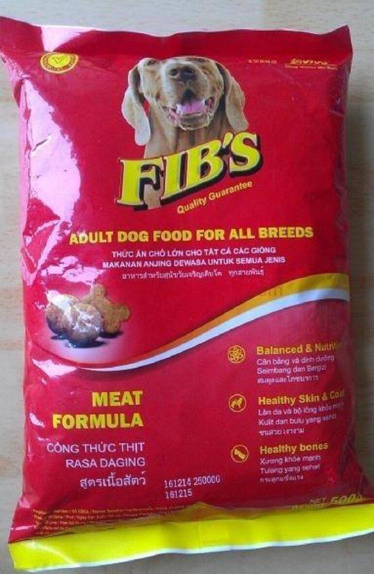 Thức ăn cho chó Fib's có hàm lượng dinh dưỡng cao