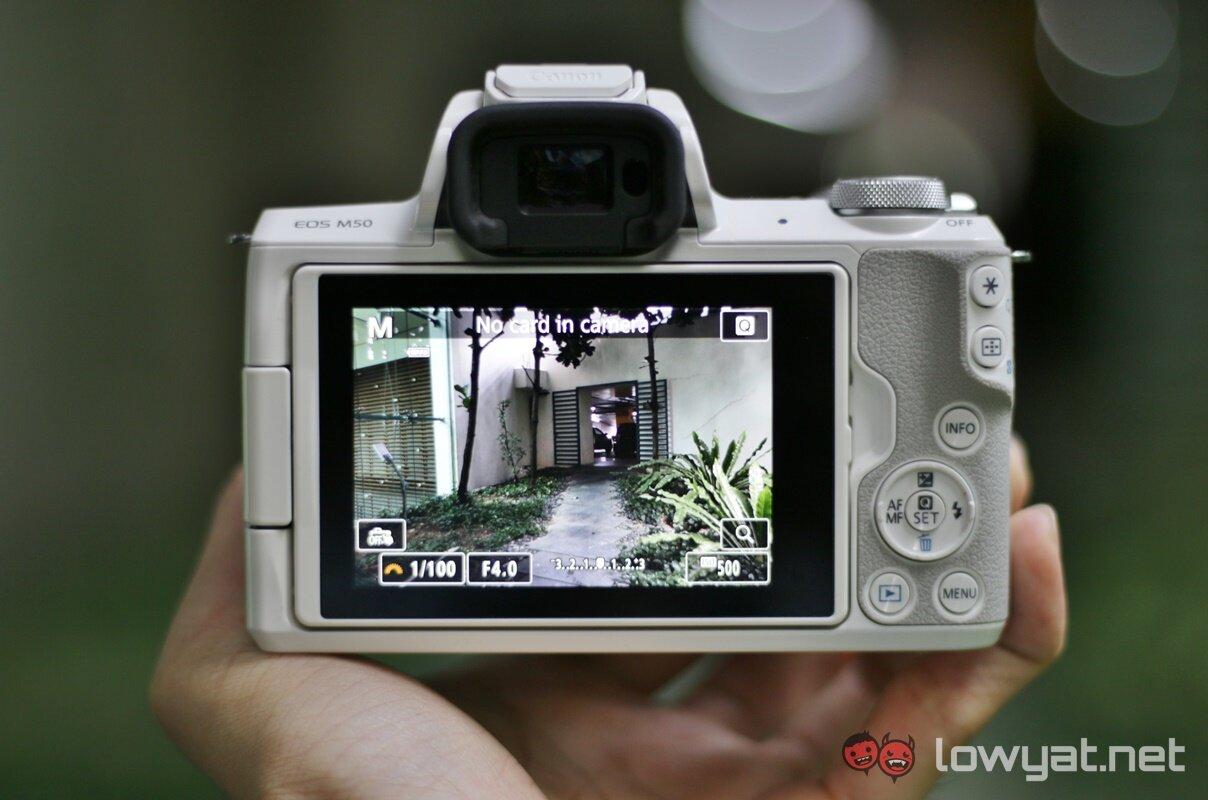 Canon EOS M50 có tốc độ lấy nét nhanh