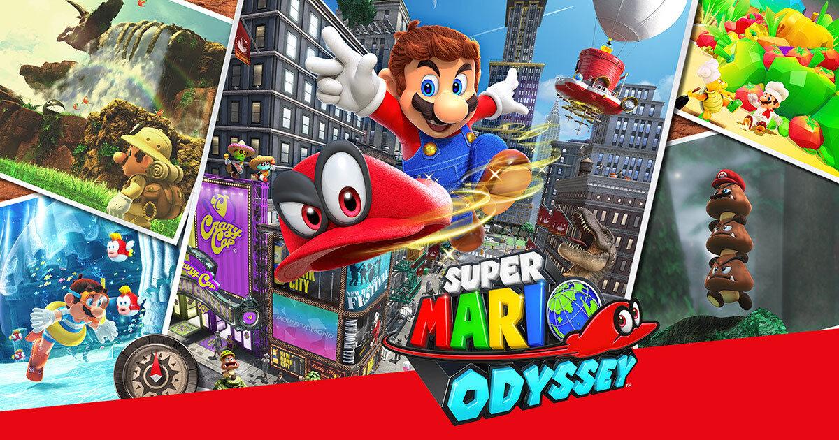Tựa game Super Mario Odyssey được nhiều người yêu thích