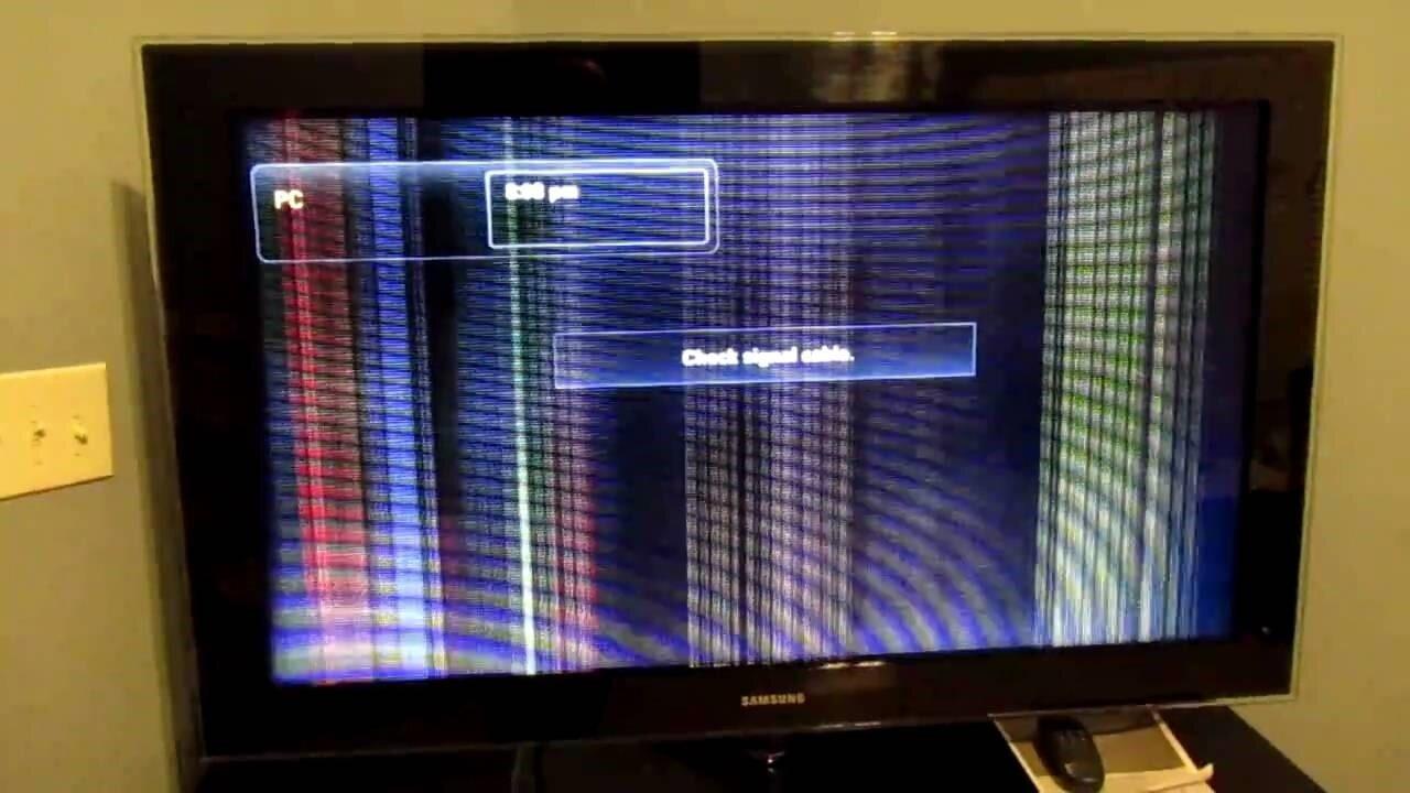 Tivi Samsung bị sọc dọc