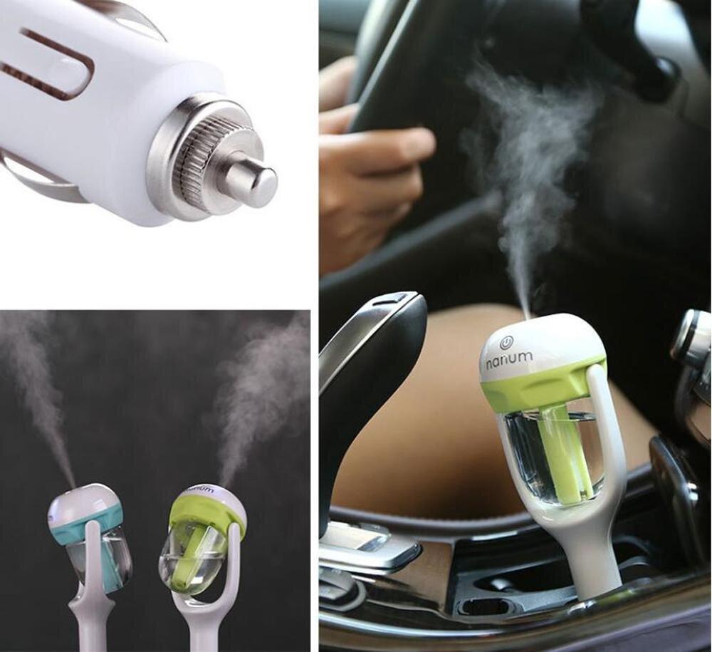 Máy phun sương tạo ẩm cho xe ô tô có rất nhiều tác dụng tốt cho những người hay đi xe di chuyển
