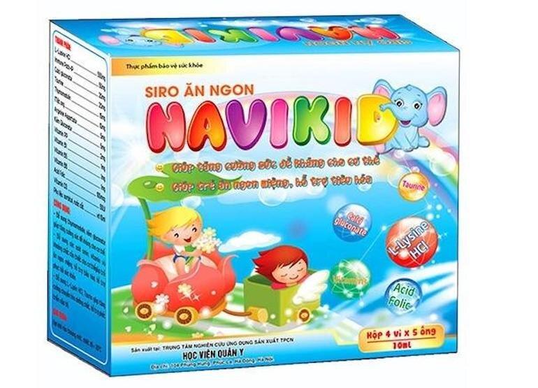 Siro ăn ngon tốt cho bé Navikid loại 20 ống