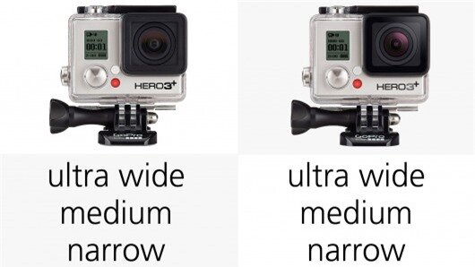 In 35-mm-format terms, Ultra Wide comes in at approximately 15-mm equivalent, while medium...