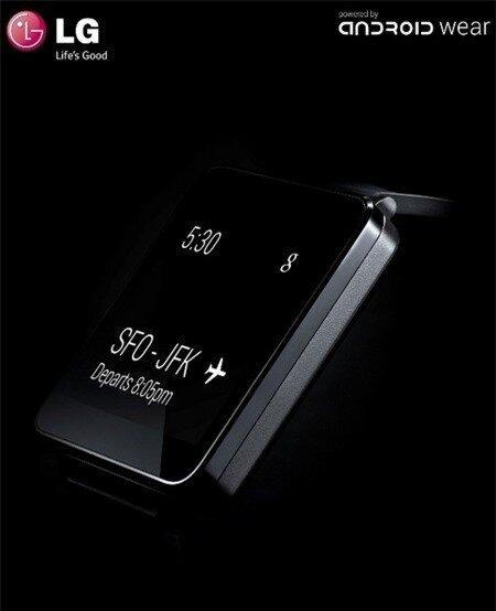 Smartwatch của LG sẽ sớm có mặt trên thị trường