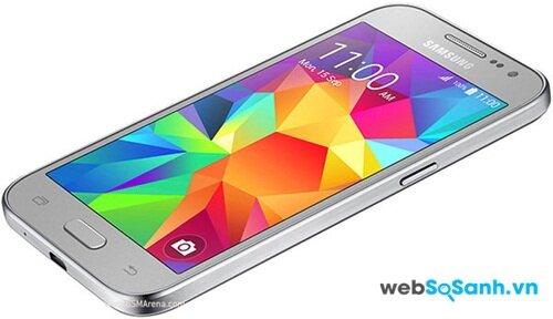 Màn hình TFT và không có kính cường lực là nhược điểm lớn nhất của Samsung Galaxy Core Prime
