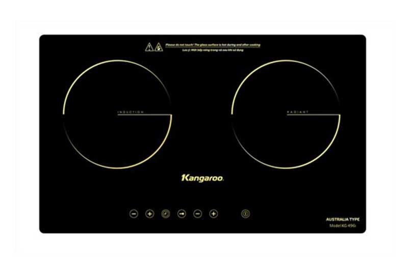 Bếp điện từ hồng ngoại đôi Kangaroo KG499N 3100W