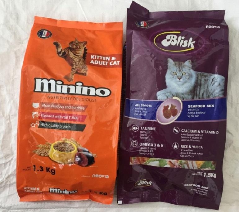Năm 2018, thức ăn cho mèo Blisk chính thức đổi tên mới thành Minino Yum
