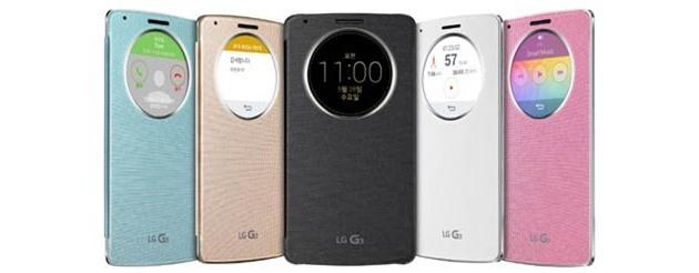 LG công bố vỏ case QuickCircle cho smartphone G3 sắp ra mắt
