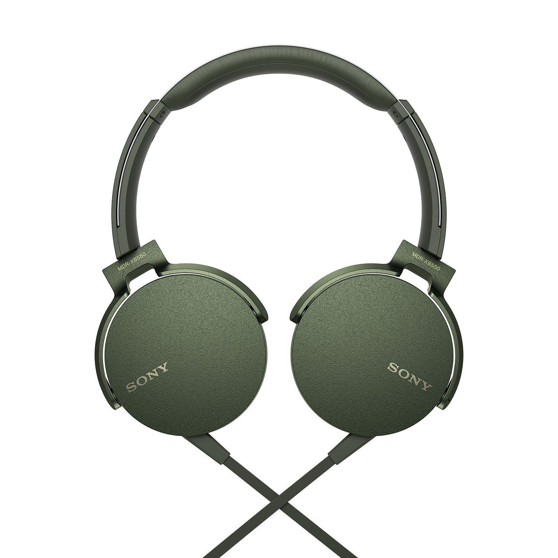 Tai nghe chụp tai có dây Sony Extra Bass MDR XB550AP