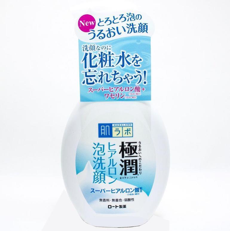 Sữa rửa mặt tạo bọt Hada Labo Gokujyun Hyaluronic Acid Bubble Face Wash
