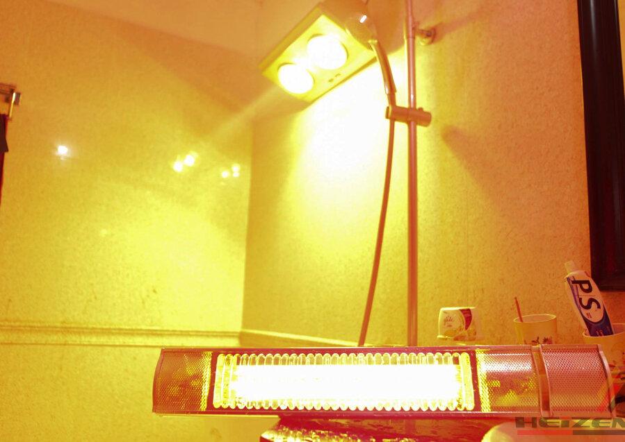 Đèn sưởi dành cho nhà tắm sử dụng tia hồng ngoại