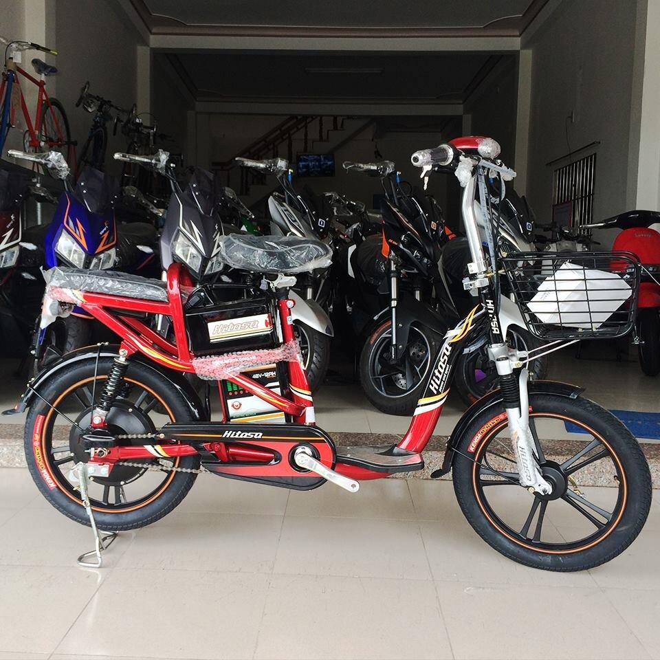 Cấu tạo chắc chắn và bền bỉ của xe đạp điện Hitasa