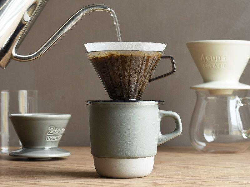 Một tách cà phê mang đậm phong cách uống trà riêng biệt của Nhật Bản
