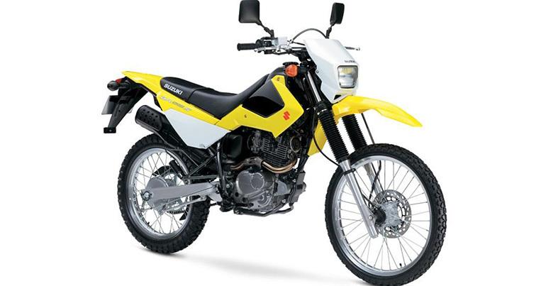 Xe phân khối lớn dáng nhỏ Suzuki DR 200 dành cho người có chiều cao khiêm tốn