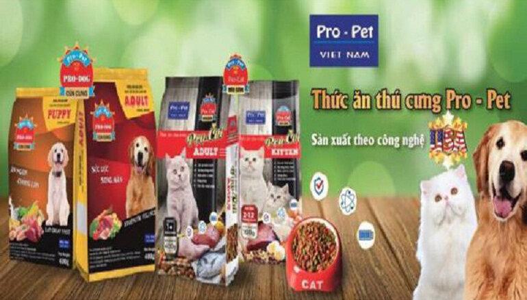 Thức ăn khô Pro-Pet cho chó con