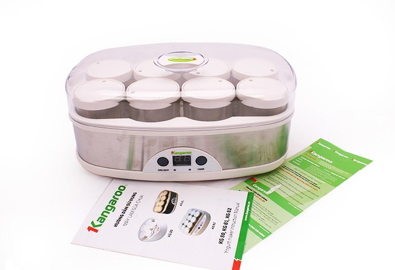 Hướng dẫn sử dụng máy làm sữa chua Kangaroo Kg81 đơn giản, tiện lợi