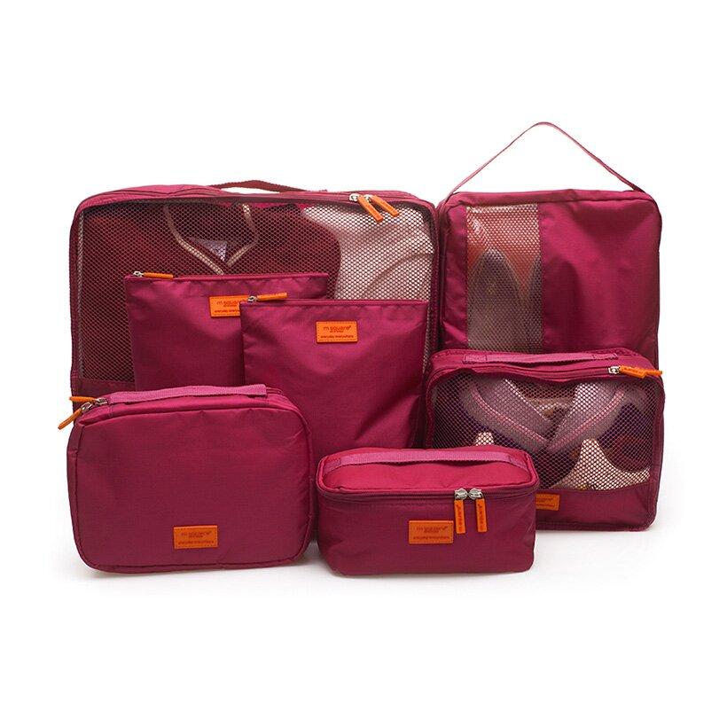Set 7 túi Msquare là lựa chọn hoàn hảo cho chuyến công tác xa nhà sắp tới.