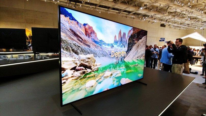 Tivi có màn hình siêu mỏng và thiết kế đẹp