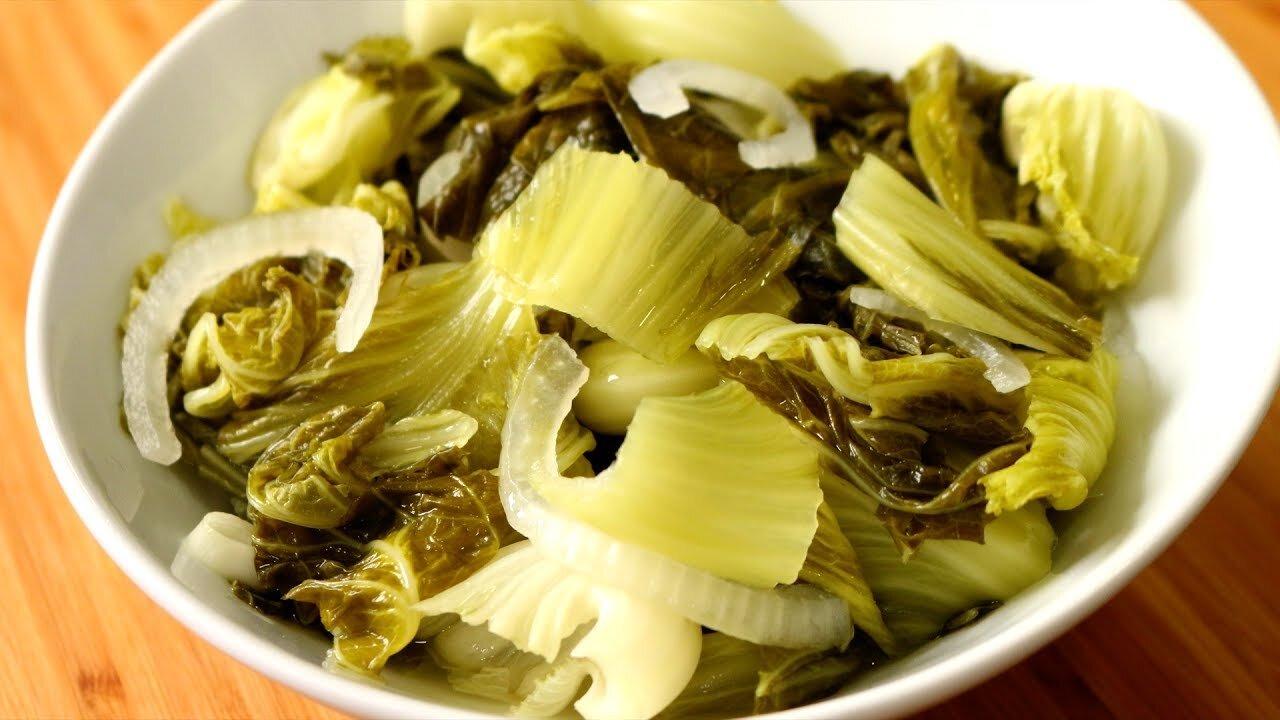 Món ăn rất phổ biến trong bữa ăn của gia đình Việt để hỗ trợ tiêu hóa