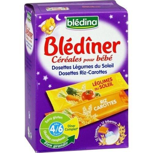 Bột pha sữa Bledina 4 tháng vị carot