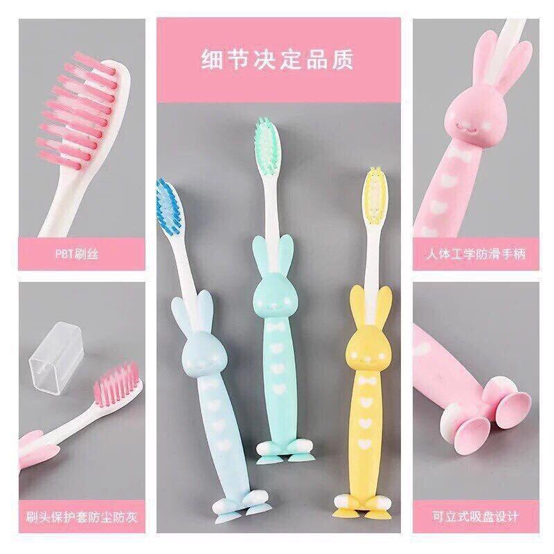 Bàn chải đánh răng cho bé có hình dáng ngộ nghĩnh