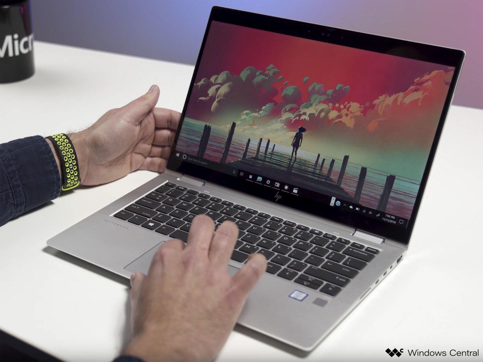 HP EliteBook X360 1030 G3 nhỏ gọn
