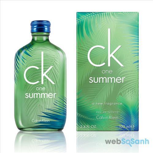nước hoa nam CK one Summer