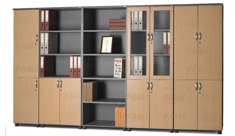 Thiết kế tủ tài liệu gỗ Fami sang trọng và đẹp mắt