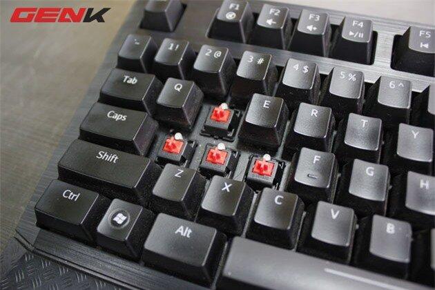 Bàn phím cơ Tesoro Durandal: Bảo kiếm cho game thủ