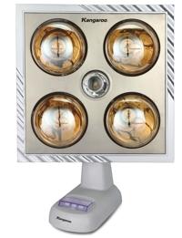 Đèn sưởi nhà tắm Kangaroo KG253 (KG-253) - 4 bóng