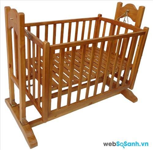 Giưỡng cũi được làm từ gỗ