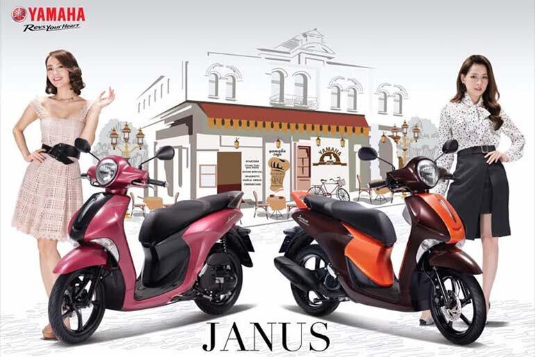đánh giá xe máy yamaha janus 2020