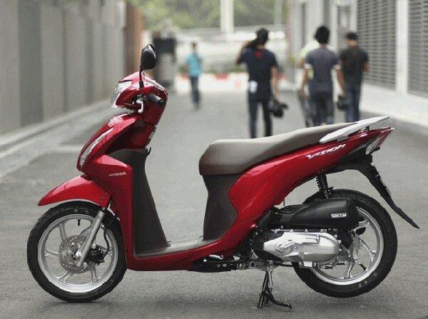 Honda Vision 2015 với thiết kế thời trang