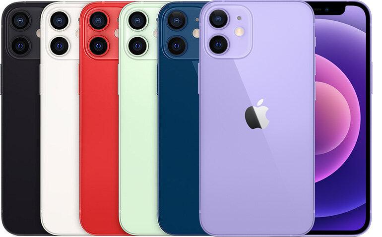 so sánh iphone 13 mini và iphone 12 mini