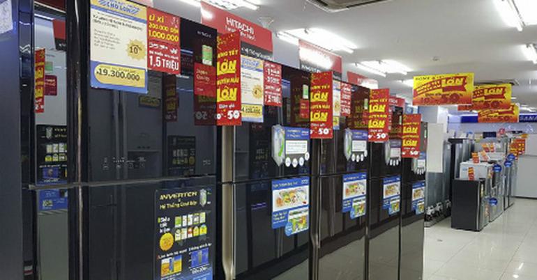Mua tủ lạnh hàng trưng bày cơ hội nhận về mức giá ưu đãi khủng