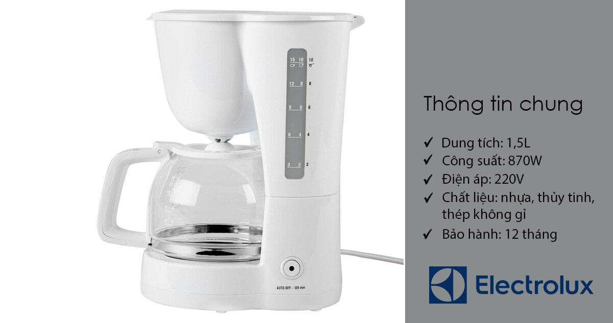 Máy pha cà phê ECM1303W