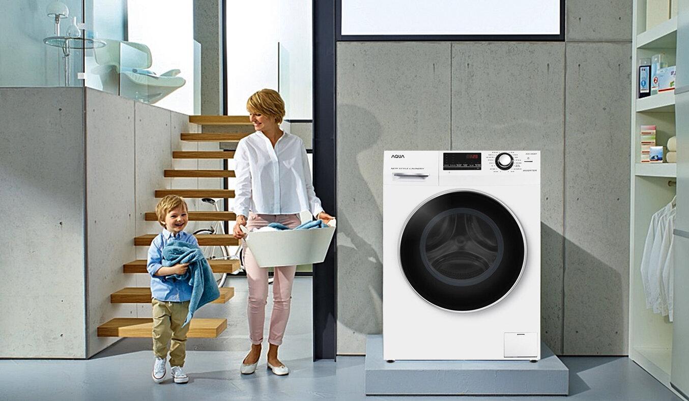 Vì sao bạn nên mua máy giặt aqua