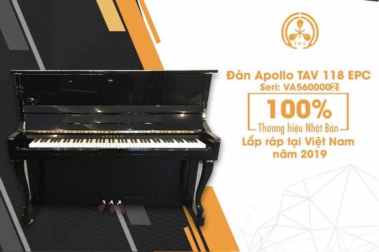 Piano Apollo TAV 118 EPC