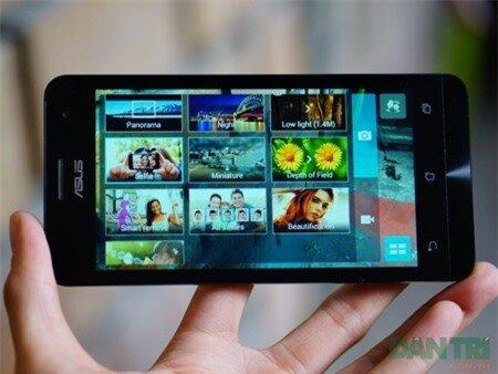 Máy chụp ảnh của Zenphone 5 gồm nhiều tuỳ chỉnh đa dạng.