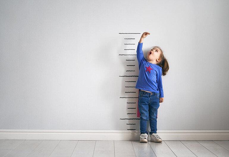 tăng chiều cao cho bé