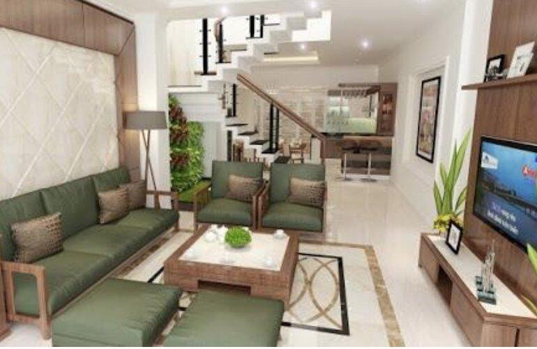 Thiết kế nội thất phòng khách nhà ống sát với mong muốn của gia chủ