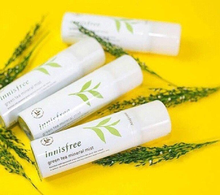 Xịt khoáng Innisfree Green Tea Mineral Mist