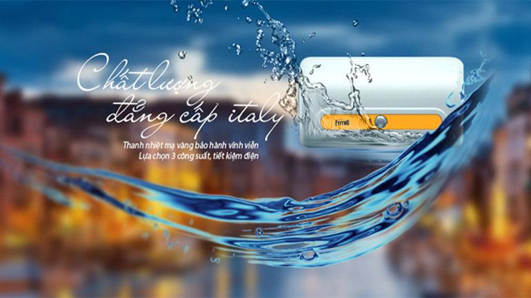 Bình nóng lạnh Ferroli có chất lượng và giá cả tốt trên thị trường