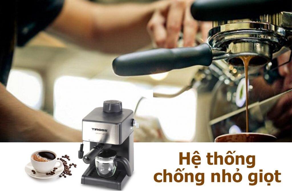 Bạn nghĩ máy pha cà phê tiross ts621 giá bao nhiêu