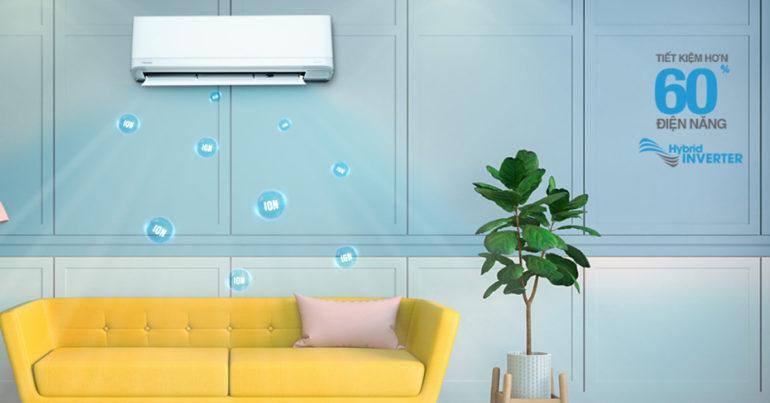 Điều hòa máy lạnh Toshiba 2019 có điểm gì mới ? Bảng giá điều hòa máy lạnh Toshiba 2 chiều cập nhật mới nhất tháng 6/2019
