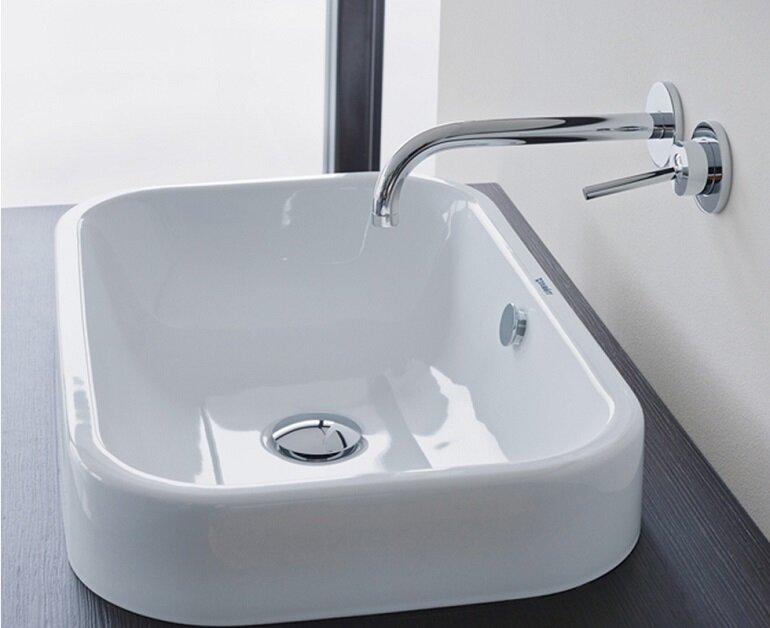 Chậu rửa mặt dương bàn đá có thiết kế cực kỳ sang trọng và tinh tế